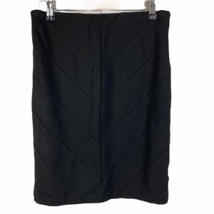 WHBM Black Instantly Slimming Fitted Pencil Skirt